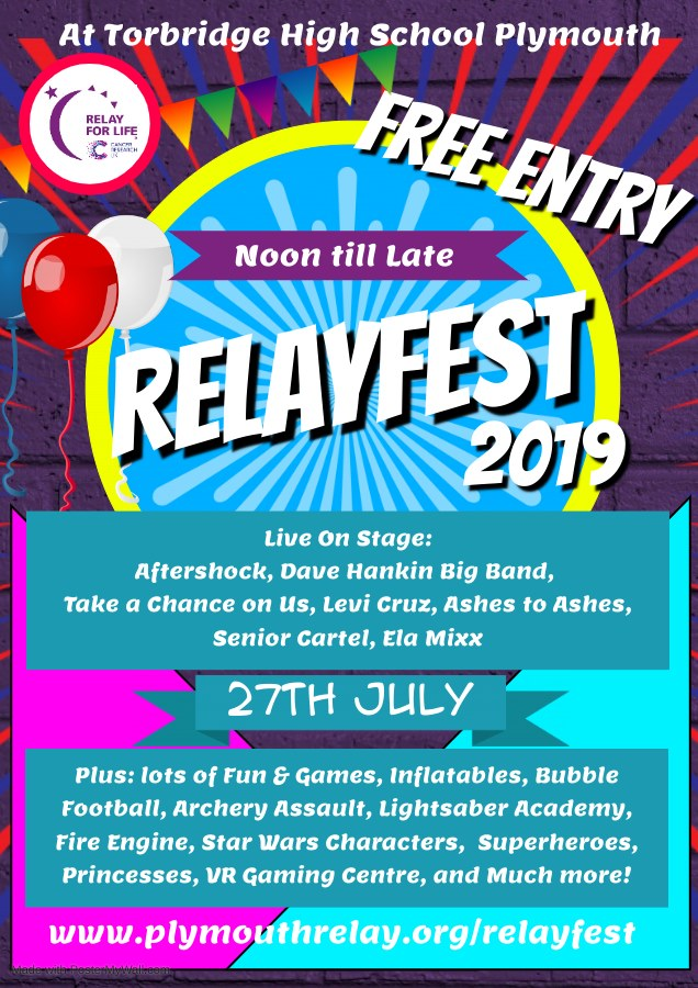 Plymouth RelayFest 2019